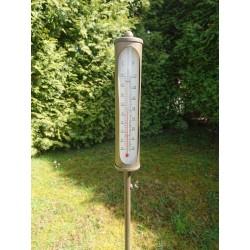 Buitenthermometer op prikker