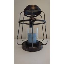 Metalen windlicht/lantaarn